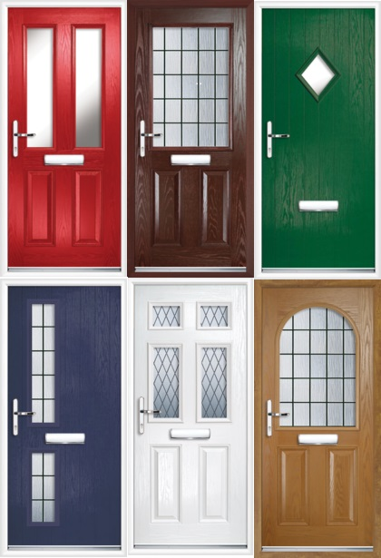 Full Collection of Standard Composite Front Doors
