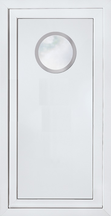 E5071 Door Panel with Stainless steel trim surrounds