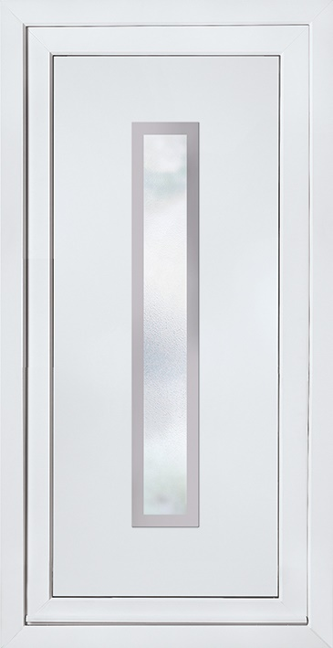 E5101 Door Panel with Stainless steel trim surrounds