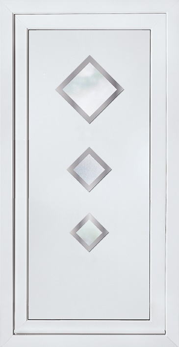 E5123 Door Panel with Stainless steel trim surrounds