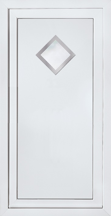 E5131 Door Panel with Stainless steel trim surrounds