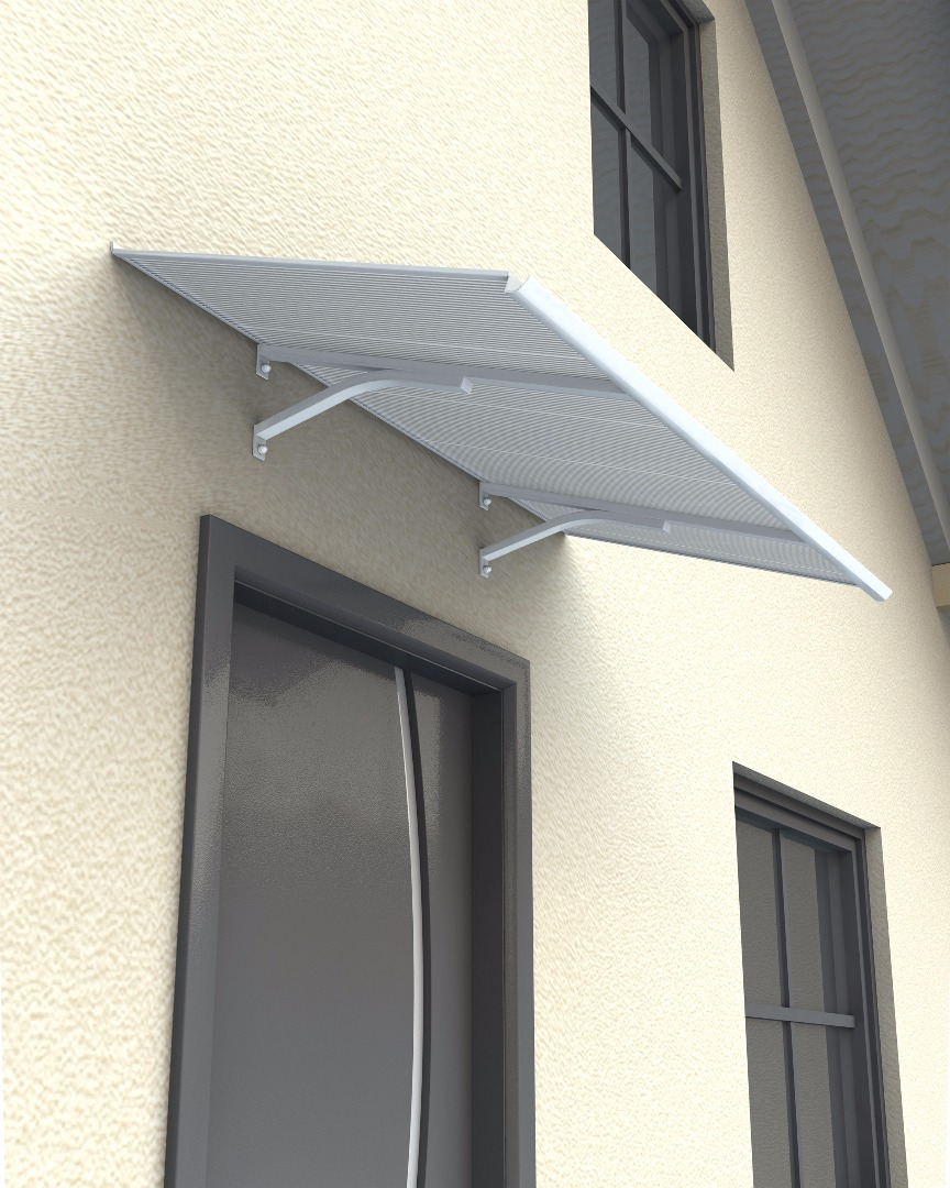 Columba 1500 White Door Canopy