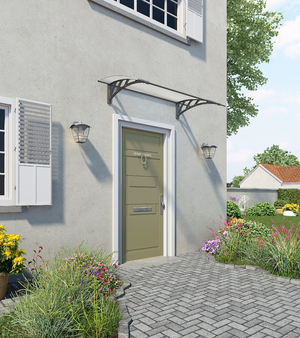 Modern Canopy, Contemporary Canopy, door cover,canopy
