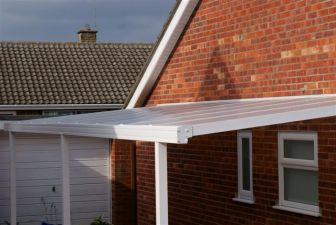 Evolution Canopy Carport Kits - 1600mm Projection