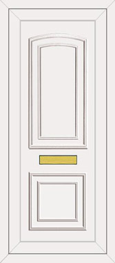 Upvc front doors white with solid infill panel - Upvc Door Panel Door Panels Infill Panels Double